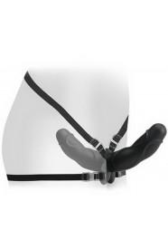 Gode ceinture Pipedream spécial double pénétration FETISH FANTASY ELITE 26 CM noir
