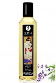 Huile Massage Shunga SENSATION 250 mL