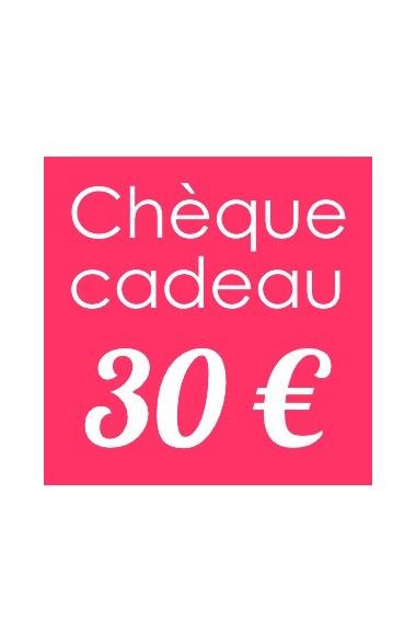 Bon Cadeau 30 euro