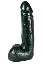 Gros Godemiché ALL BLACK 19.5 cm