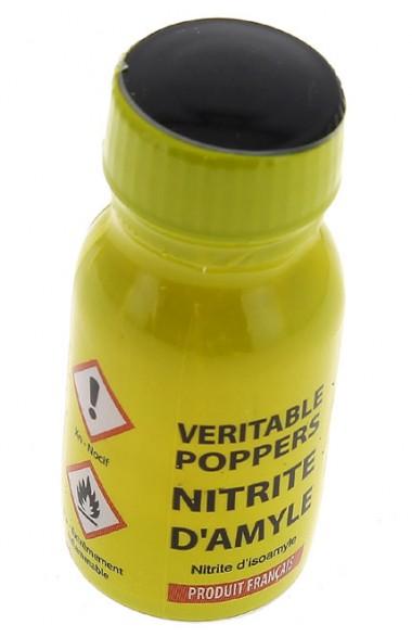 Poppers véritable au nitrite d'amyle - 13 ml