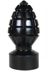 Plug anal ALL BLACK Grenade