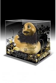Canard vibrant DUCKIE PARIS TRAVEL GOLD