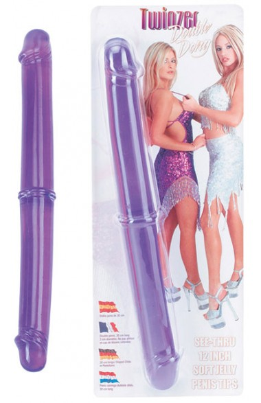 Double gode Twinzer 32 cm