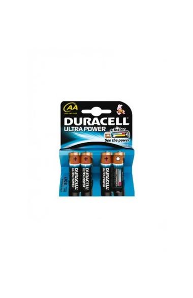 Piles Alkaline LR06 duracell AA par 4
