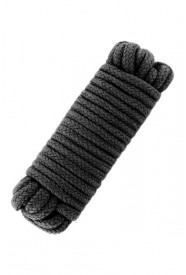 LOVE ROPE 10M BLACK
