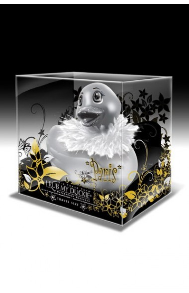 Canard vibrant DUCKIE PARIS TRAVEL SILVER