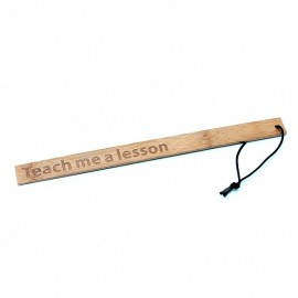 TEACH ME A LESSON - RÈGLE DE BAMBOU