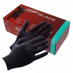 BLACK NINJA GANTS JETABLES EN LATEX (100 PIÈCE)