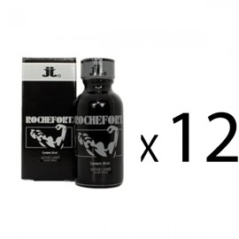 Lot de 12 poppers ROCHEFORT JJ 30ML