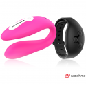 WEARWATCH DUAL PLEASURE WIRELESS TECHNOLOGY WATCHME FUCHSIA / JET BLACK