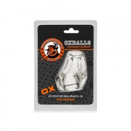 OXBALLS Cocksling 2 anneaux transparent